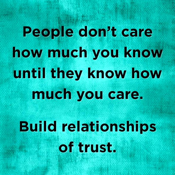 People don't care how much u know
