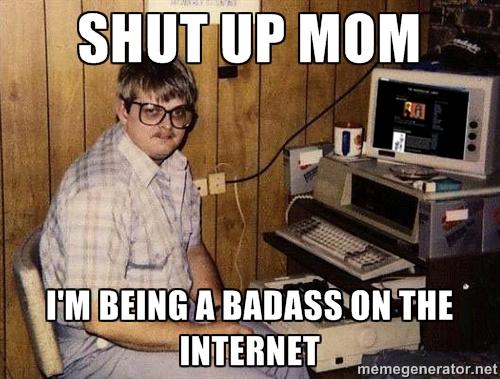shut up mom